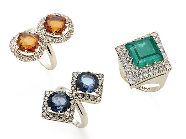 Aneis-diamantes-citrino-topazio-esmeralda-hstern