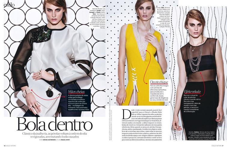 Fotos de Bruna Castanheira para Vogue H.Stern 2014
