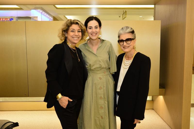 Consuelo Blocker, Victoria Ceridono e Costanza Pascolato - evento hstern