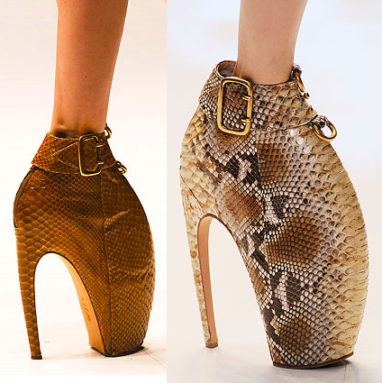 Armadillo Shoes by Alexander McQueen