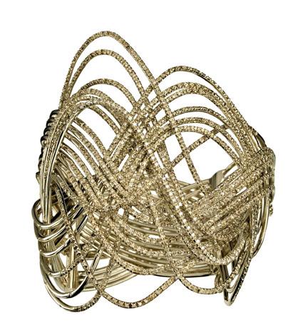 Bracelete Zephyr de Ouro Nobre
