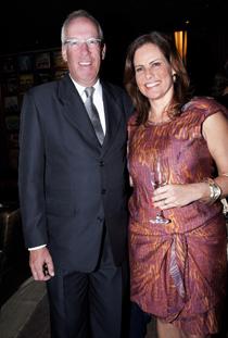 Christian Hallot e Renata Ceribelli.
