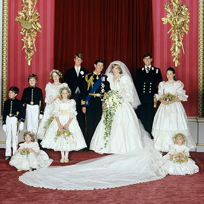 Diana & Charles July 29, 1981