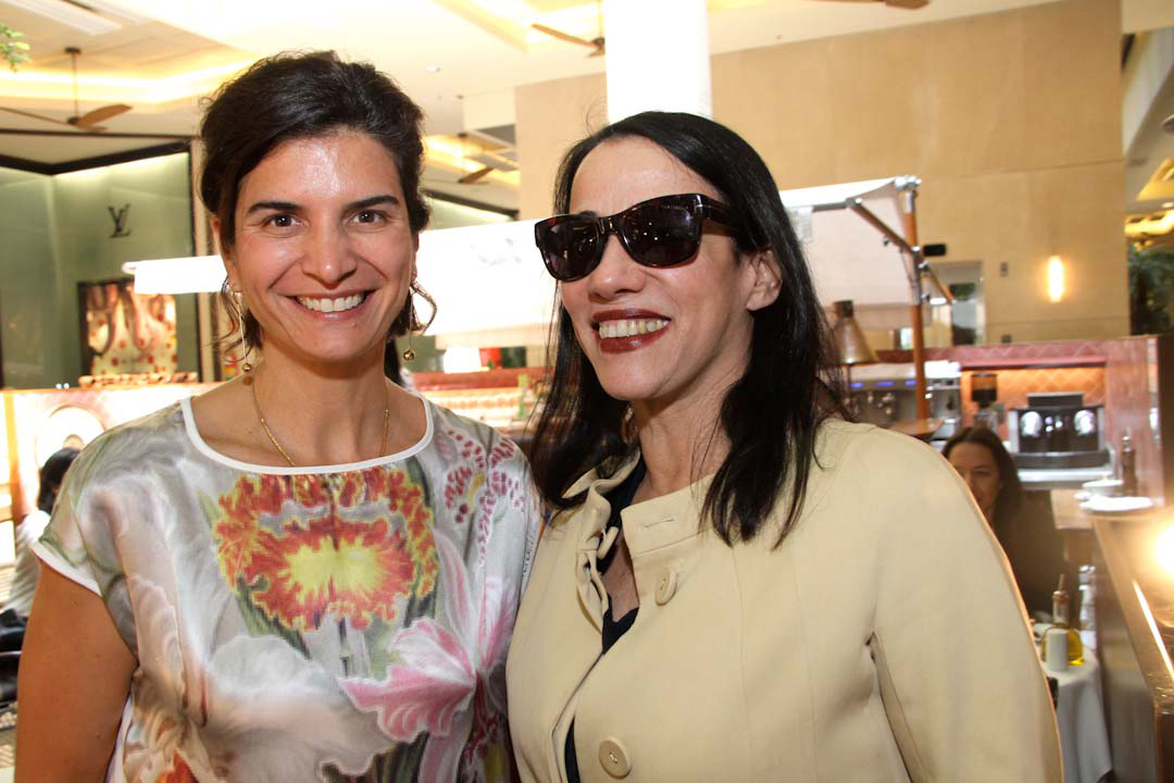 Fernanda Feitosa e Gloria Coelho