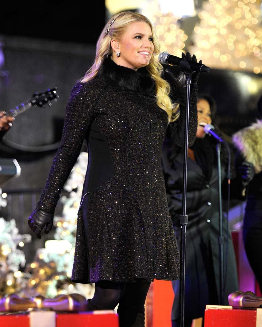 Jessica Simpson, NY, dezembro 2010