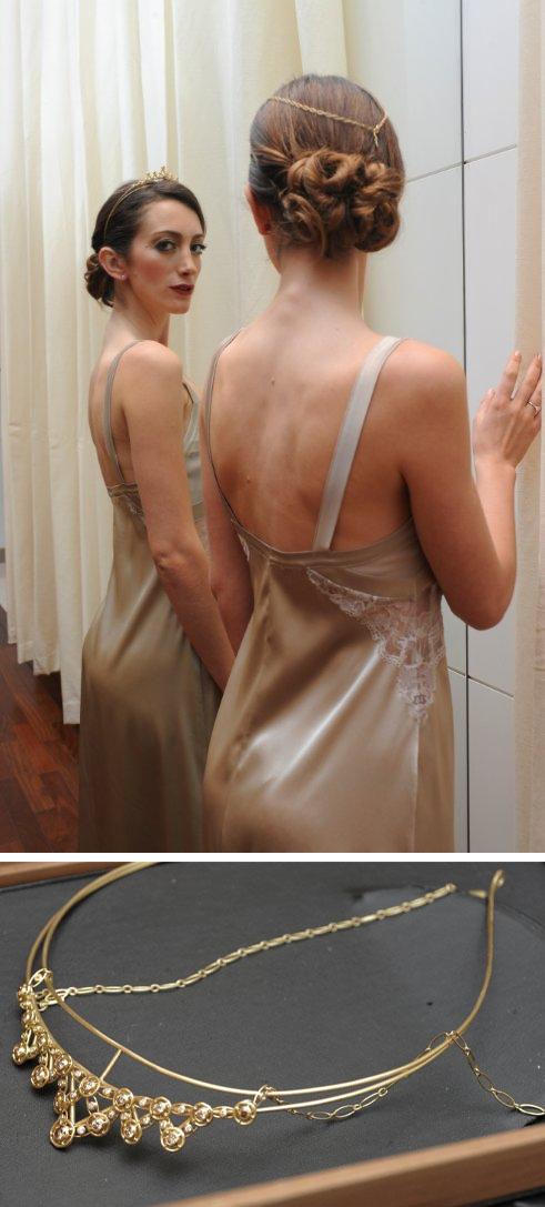 Bride'd Meeting - modelo com tiara Legacy