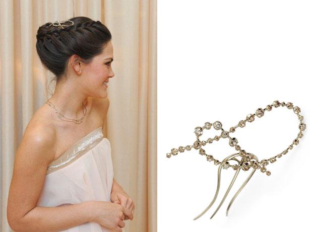 Brides Meeting - Modelo com grampo Zephyr