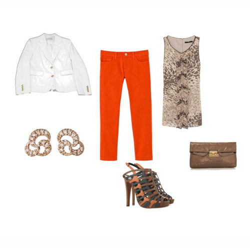 Look laranja 01