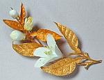 Orange Blossom Brooch - Queen Victoria - 1839