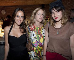 Paula Bezerra de mello, Carlotta Loverini e Yasmine Sterea