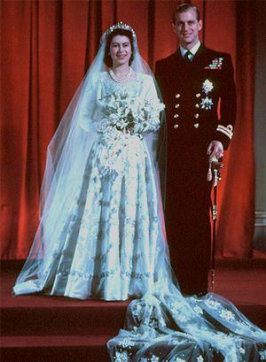 Queen Elizabeth II & Duke of Edinburgh - Nov 20, 1947