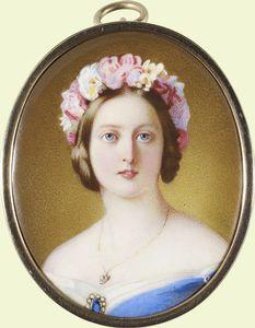 Queen Victoria pendant 1864
