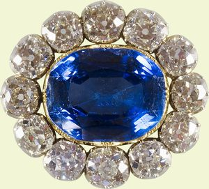 Queen Victoria wedding brooch 1840