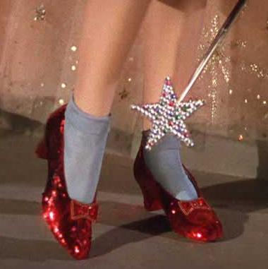 Sapatos Magico de Oz