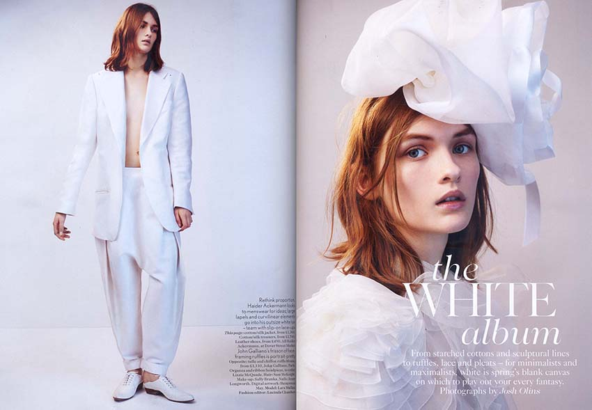 Revista Vogue Inglaterra - abril/2012